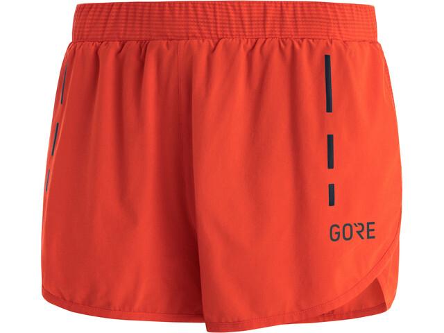 GORE WEAR Split Shorts Men, naranja